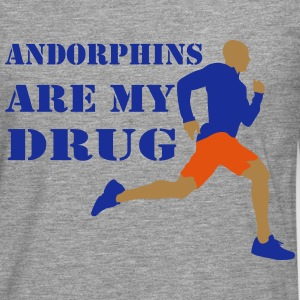 Andorphins are my drug - T-shirt manches longues Premium Homme