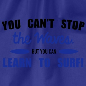 Learn to surf T-shirts - Sportstaske