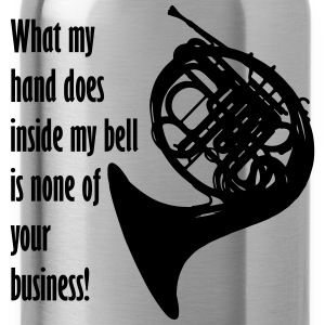 What my hand does inside my bell. T-shirts - Vattenflaska