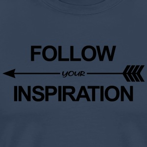 Follow Your Inspiration Débardeurs - T-shirt Premium Homme