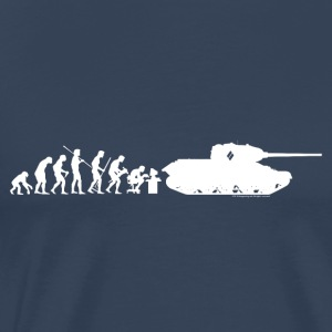 World of Tanks Darwin Men Longsleeve - Men's Premium T-Shirt