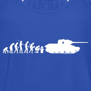 World of Tanks Darwin Männer T-Shirt - Frauen Tank Top von Bella