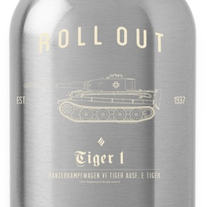 World of Tanks Roll Out Tiger Männer T-Shirt - Trinkflasche