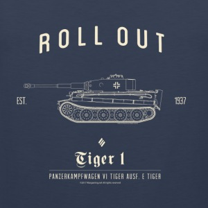 World of Tanks Roll Out Tiger Homme tee shirt - Débardeur Premium Homme