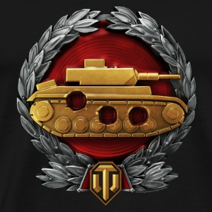World of Tanks Za Strelbu Medal mug - Men's Premium T-Shirt