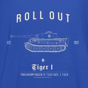 World of Tanks Roll Out Tiger Homme sweat-shirt - Débardeur Femme marque Bella