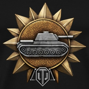 World of Tanks Razvedtchik Medal mug - Men's Premium T-Shirt