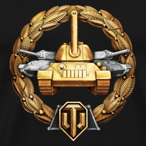 World of Tanks Osnovnoi Medal mug - Men's Premium T-Shirt