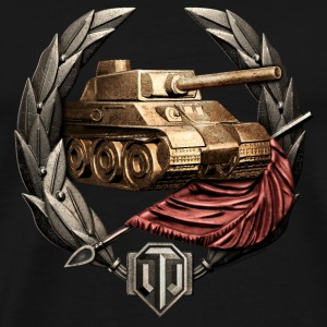 World of Tanks Invader Medal mug - Men's Premium T-Shirt