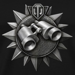 World of Tanks Dzornui Medal mug - Men's Premium T-Shirt
