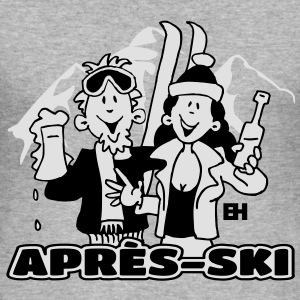 Après-ski party - slim fit T-shirt