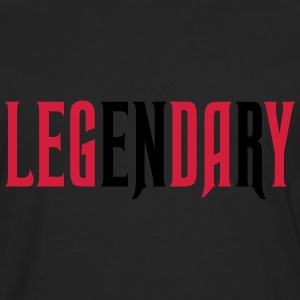 legendary leg day T-Shirts - Men's Premium Longsleeve Shirt