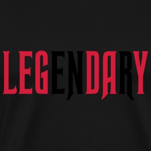 legendary leg day Tops - Men's Premium T-Shirt