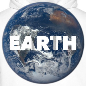 Planet Earth Tee shirts - Sweat-shirt à capuche Premium pour hommes