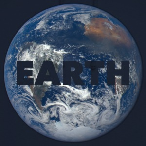 Planet Earth Tee shirts - Sweat-shirt à capuche unisexe