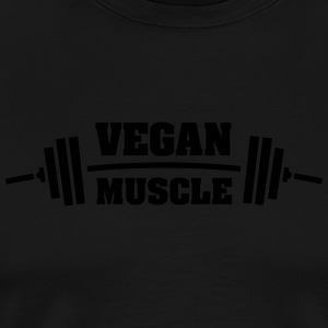 Vegan Muscle Sports wear - Men's Premium T-Shirt