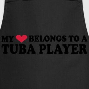 MY HEART BELONGS TO A TUBA PLAYER T-paidat - Esiliina