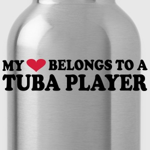 MY HEART BELONGS TO A TUBA PLAYER Tee shirts - Gourde