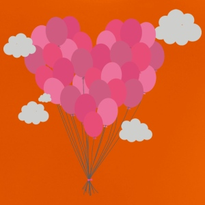 Arranged balloons as heart Shirts - Baby T-Shirt