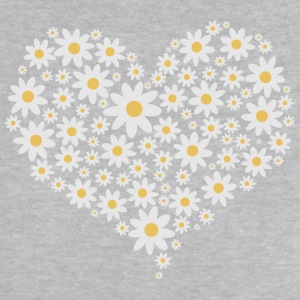 Heart of white flowers Long Sleeve Shirts - Baby T-Shirt
