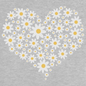 Heart of white flowers Shirts - Baby T-Shirt