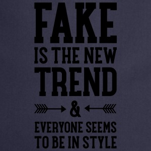 Fake Is The New Trend Tee shirts - Tablier de cuisine