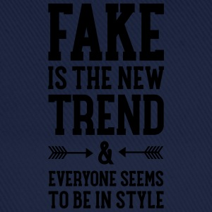 Fake Is The New Trend Tee shirts - Casquette classique