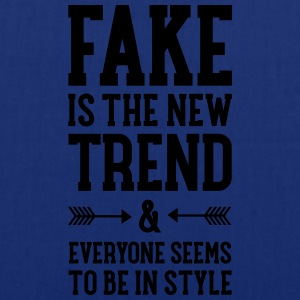 Fake Is The New Trend Tee shirts - Tote Bag