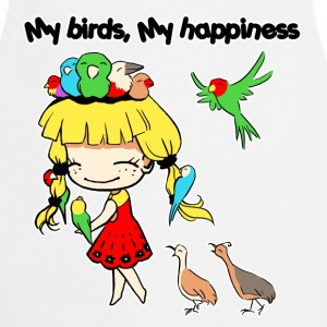 My birds my happiness - Cooking Apron