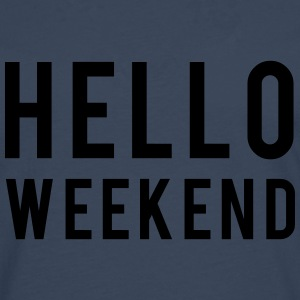 Weekend Tops - Mannen Premium shirt met lange mouwen