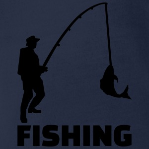 Fishing T-Shirts - Baby Bio-Kurzarm-Body