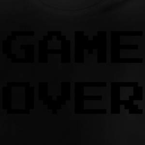 Game Over / Geek / Gaming / Gamer / Gamer / Player Skjorter - Baby-T-skjorte