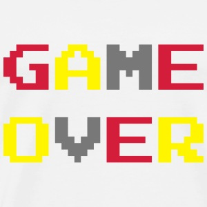 Game Over / Geek / Gaming / Gamer / Gamer / Player Babybody - Premium T-skjorte for menn