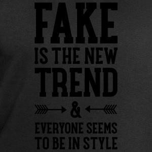 Fake Is The New Trend T-Shirts - Men's Sweatshirt by Stanley & Stella