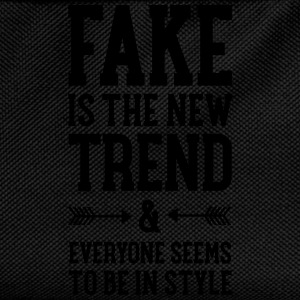 Fake Is The New Trend T-Shirts - Kids' Backpack