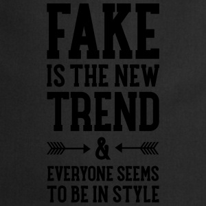 Fake Is The New Trend T-shirts - Keukenschort