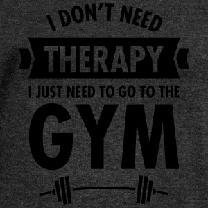 Therapy - Gym T-Shirts - Women's Boat Neck Long Sleeve Top