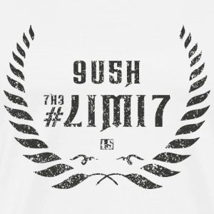 push the limit leet grey Sportbekleidung - Männer Premium T-Shirt