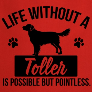 Dog shirt: Life without a Toller is pointless Skjorter - Kokkeforkle