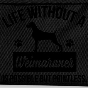 Dog shirt: Life without a Weimaraner is pointless Magliette - Zaino per bambini