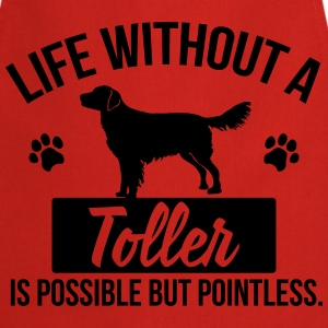 Dog shirt: Life without a Toller is pointless T-skjorter - Kokkeforkle