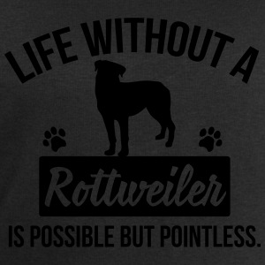 Dog shirt: Life without a Rottweiler is pointless Shirts met lange mouwen - Mannen sweatshirt van Stanley & Stella