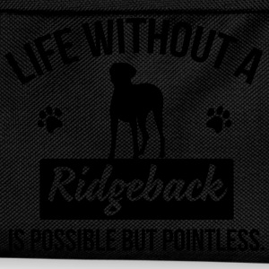 Dog shirt: Life without a Ridgeback is pointless Tops - Kids' Backpack