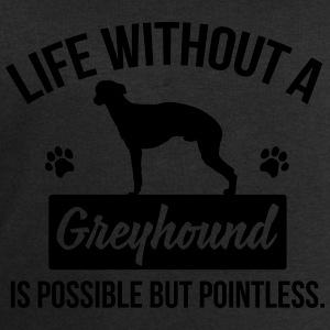 Dog shirt: Life without a Greyhound is pointless Shirts - Men's Sweatshirt by Stanley & Stella