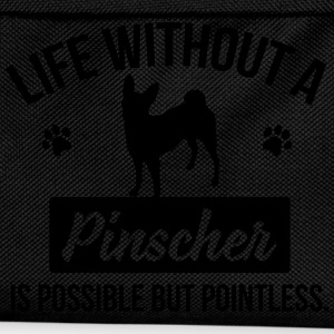 Dog shirt: Life without a Pinscher is pointless Tops - Kinder Rucksack