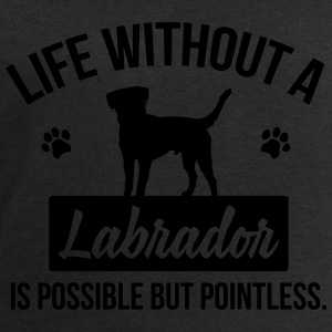 Dog shirt: Life without a Labrador is pointless Topy - Bluza męska Stanley & Stella