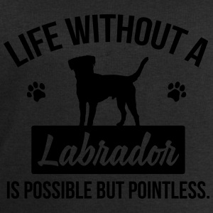 Dog shirt: Life without a Labrador is pointless Shirts - Men's Sweatshirt by Stanley & Stella