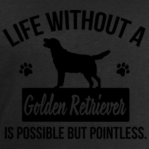 Dog shirt: Life without a Goldie is pointless Tee shirts - Sweat-shirt Homme Stanley & Stella