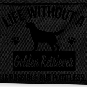 Dog shirt: Life without a Goldie is pointless Tee shirts - Sac à dos Enfant