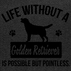 Dog shirt: Life without a Goldie is pointless Tee shirts - Casquette snapback